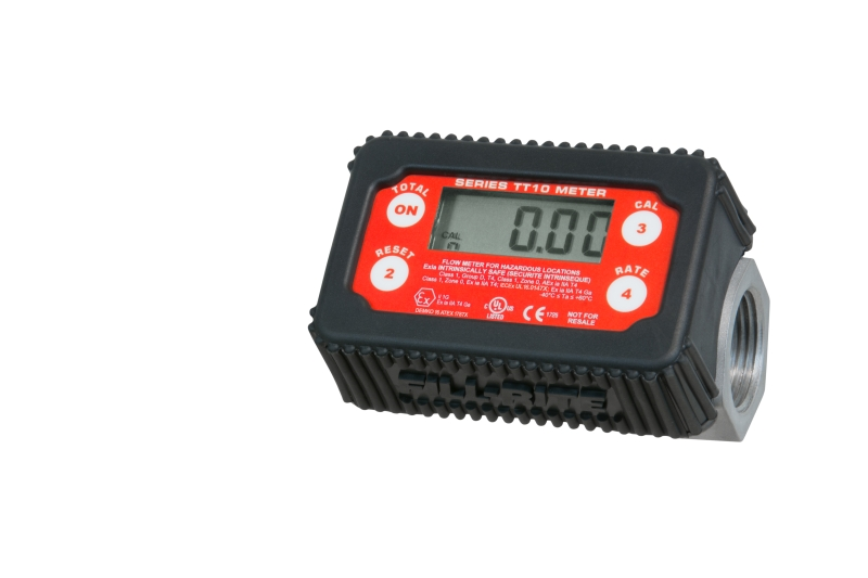 Fill-Rite TT10-AB In-Line Digital Turbine Fuel Meter